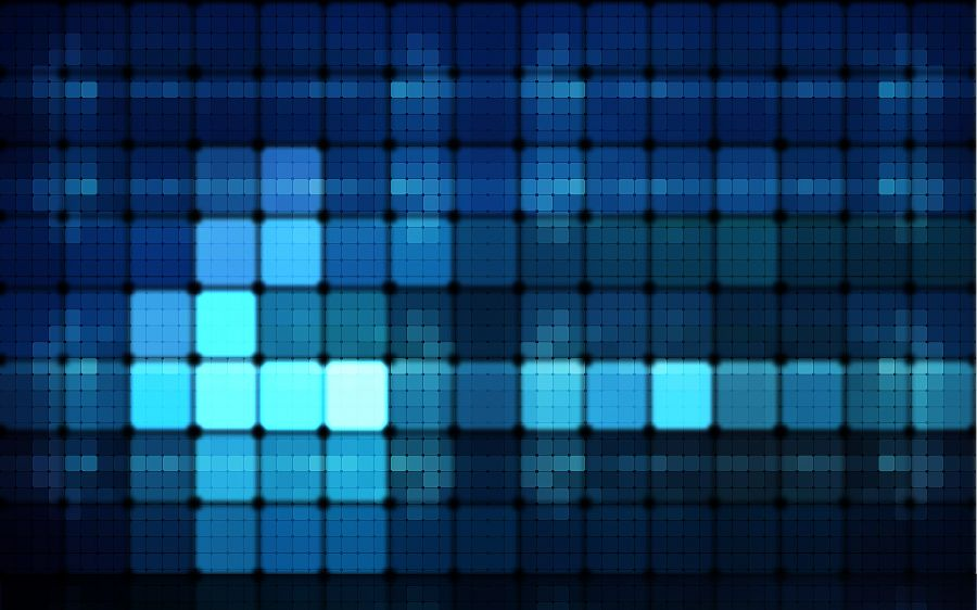 Free Wallpapers: Blue Lights | Abstract