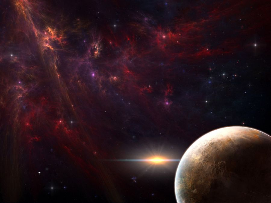 Free Wallpapers: The Nearest Galaxy   Space