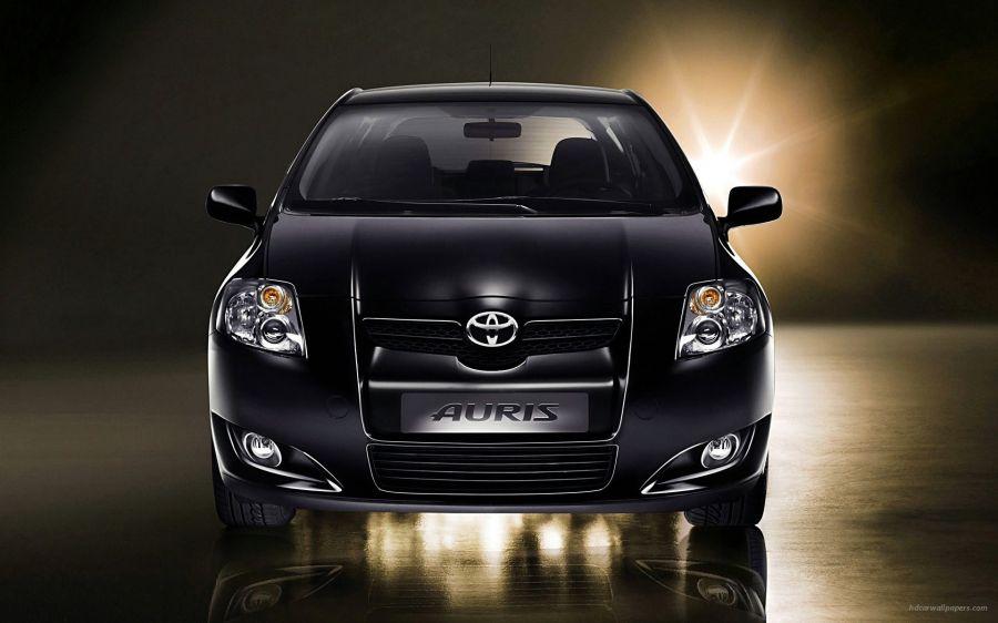 Free Wallpapers: Small Black Toyota | Transportation