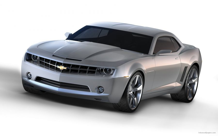 Free Wallpapers: Silver Camaro & Tinted Windows | Transportation