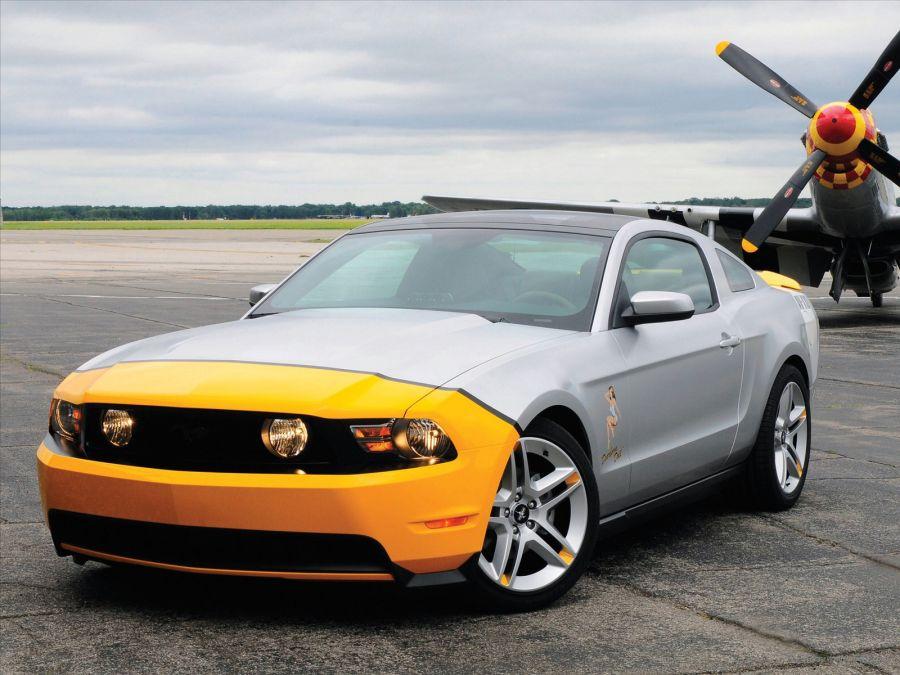 Free Wallpapers: 2010 Ford Mustang AV X10 | Transportation