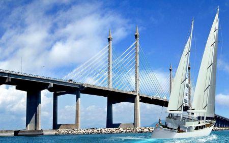 Free Penang Bridge Malaysia