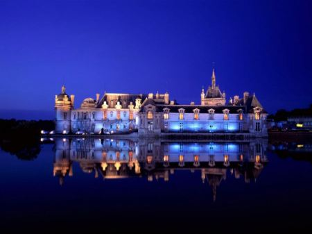 Free Chateau de Chantilly France