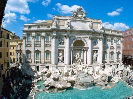 Free Trevi Fountain Rome Italy