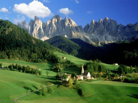 Free Val di Funes Dolomites Italy