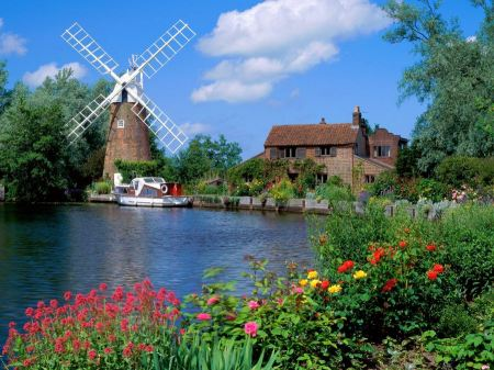 Free Hunsett Mill Norfolk England