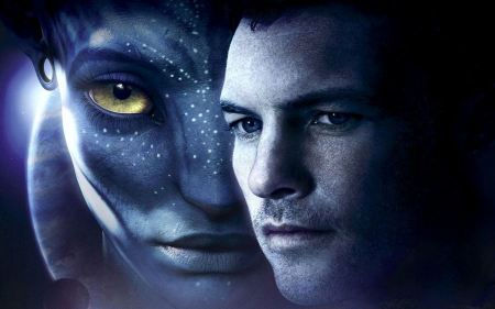 Free Neytiri and Jake Sully Avatar Wallpaper