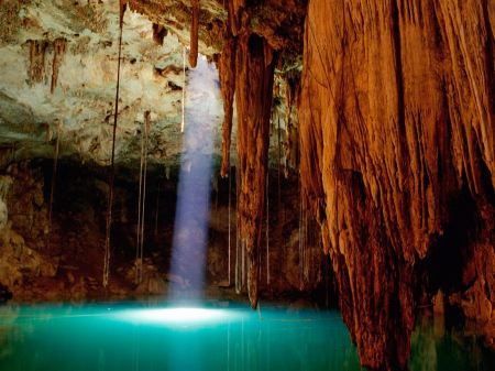 Free Cenote Dzitnup Mexico