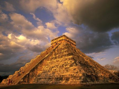 Free Ancient Mayan Ruins Chichen Itza Mexico