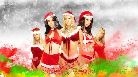 Free Santa Christmas Girls