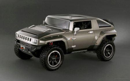 Free Hummer HX Concept 2008 2