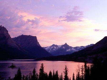 Free Summer Sunset on Lake