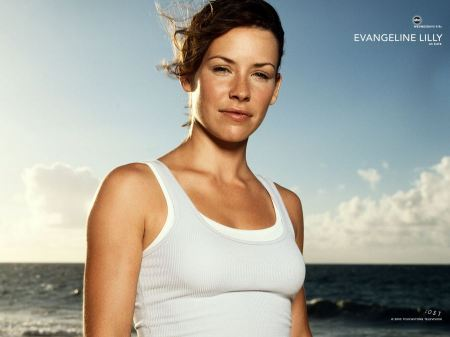 Free Evangeline Lilly as Kate in Lost Background