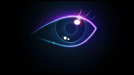 Free Creative Colorful Eye