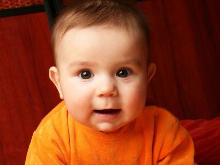 Free Beautiful Brown-Eyed Baby