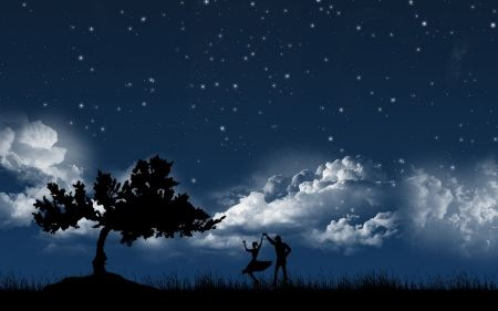 Free Dancing in Moonlight