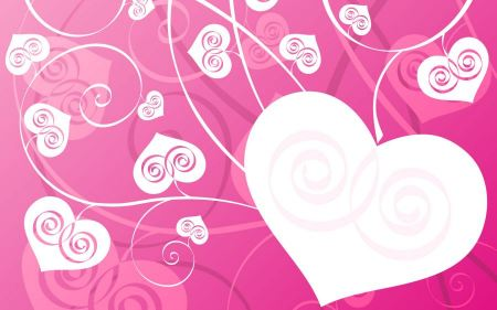 Free Pink Love Background