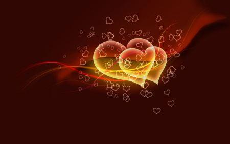 Free Flying Hearts