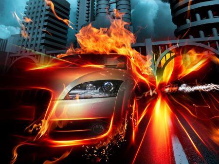 Free Car in Fire City HQ