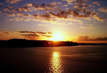 Free Beautiful Sunset in Kiel