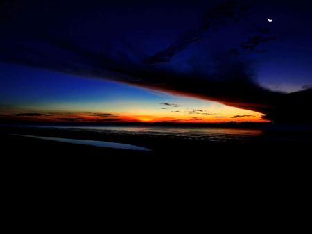 Free Lovely Dark Sunset