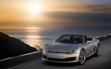 Free Volkswagen Bluesport Sunset