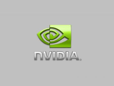 Free nVIDIA Logo Gray Background