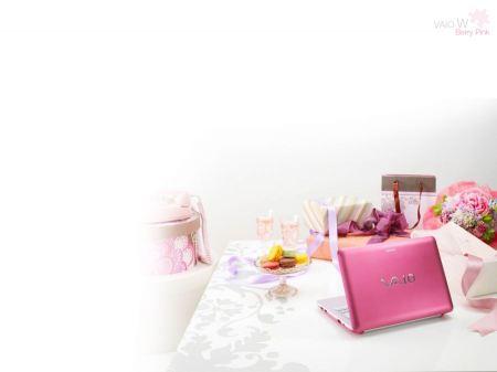 Free Sony VAIO Berry Pink