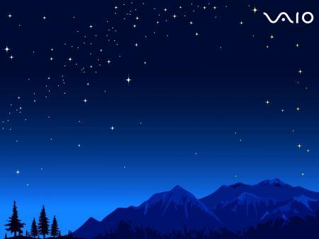 Free Sony VAIO Night Sky