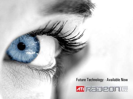Free ATI RADEON Future Technology Blue Eye