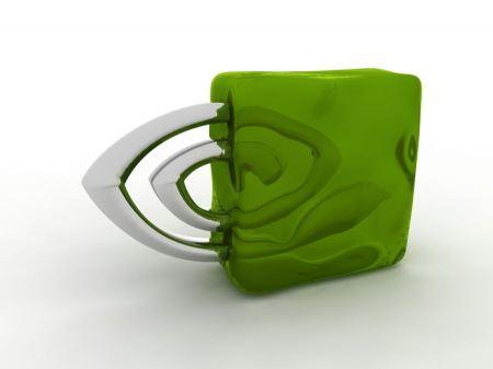 Free NVIDIA 3D Logo