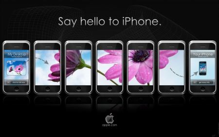 Free Say Hello to iPhone