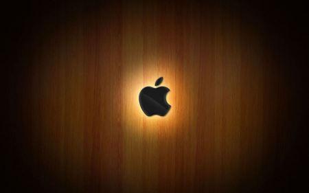 Free Wooden Apple Glow