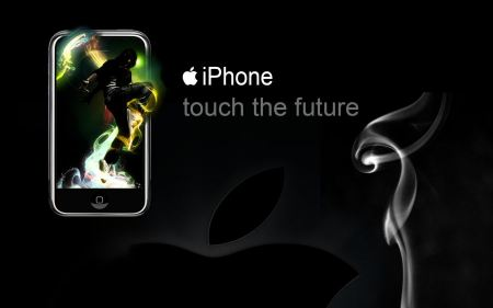 Free iPhone Touch the Future