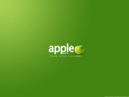 Free Apple Green Wallpaper