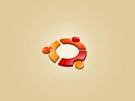 Free Ubuntu Logo Wallpaper