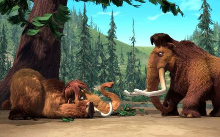 Free Manny and Ellie Wooly Mammoth from Ice Age
