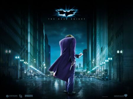 Free The Dark Knight Joker in the City