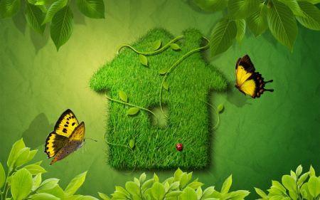 Free Creative Green House