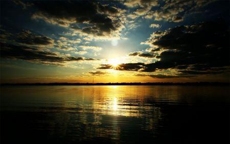 Free Twilight at Sunset