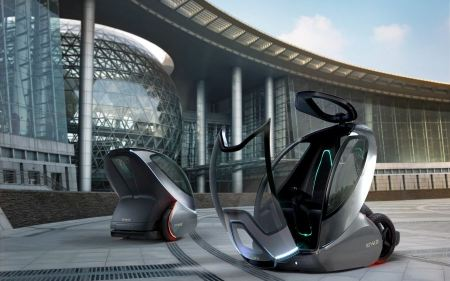 Free GM EN V Concept Future Car