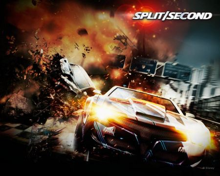 Free 2010 Spilt Second Racing Game