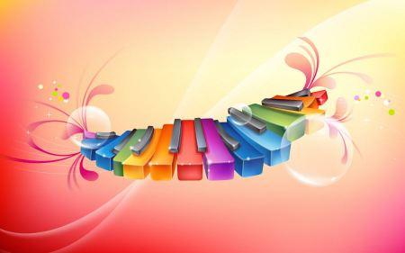 Free Rhythmic Colorful Piano