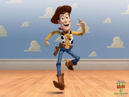 Free Woody in Toy Story 3