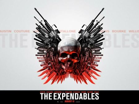 Free The Expendables Skull