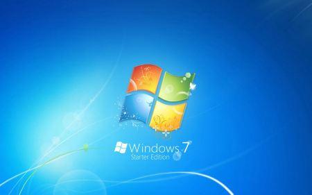 Free Windows 7 Starter Edition Background