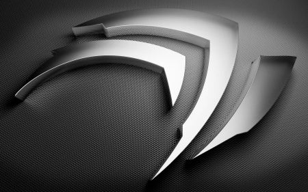 Free NVIDIA Metallic Logo