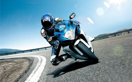 Free Suzuki Biker