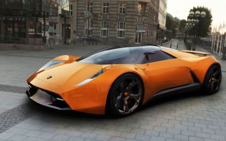 Free Lamborghini Insecta Concept Car