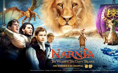 Free The Chronicles of Narnia Characters Poster